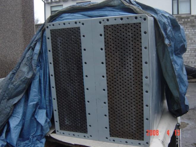 Ремонт решетки теплообменника рисунок пластинчатого теплообменника